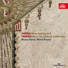 Jan Hugo Vorisek (1791-1825): Missa solemnis B-Dur op.24, CD