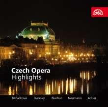 Czech Oper - Highlights, CD