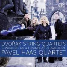 Antonin Dvorak (1841-1904): Streichquartette Nr.12 & 13 (180g), 2 LPs