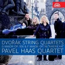 Antonin Dvorak (1841-1904): Streichquartette Nr.12 & 13, CD