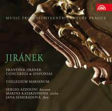 Frantisek Jiranek (1698-1778): Sinfonias D-Dur & F-Dur, CD