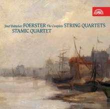 Josef Bohuslav Foerster (1859-1951): Streichquartette Nr.1-5, 2 CDs