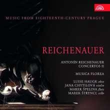 Johann Anton Reichenauer (1694-1730): Concerti II, CD