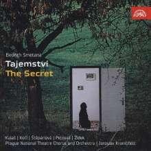 Bedrich Smetana (1824-1884): Tajemstvi (Das Geheimnis - Oper in 3 Akten), 2 CDs