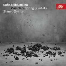 Sofia Gubaidulina (geb. 1931): Sämtliche Werke für Streichquartett, CD