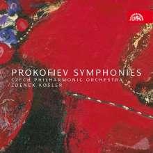 Serge Prokofieff (1891-1953): Symphonien Nr.1-7, 4 CDs