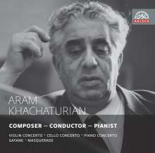 Aram Khachaturian (1903-1978): Aram Khachaturian - Composer/Conductor/Pianist, 2 CDs