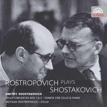 Mstislav Rostropovich - Rostropovich plays Schostakowitsch, 2 CDs