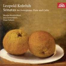 Leopold Kozeluch (1747-1818): Sonaten für Hammerklavier,Flöte & Cello, CD