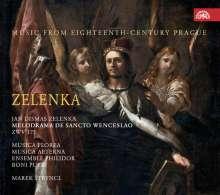 Jan Dismas Zelenka (1679-1745): Melodrama De Sancto Wenceslao ZWF 175, 2 CDs