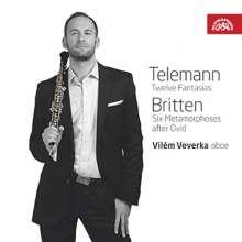 Vilem Veverka - Telemann/Britten, CD