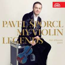 Pavel Sporcl - My Violin Legends, CD