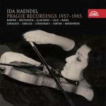 Ida Haendel - Prague Recordings 1957-1965, 5 CDs