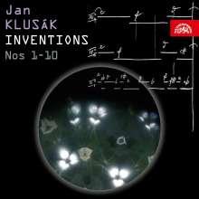 Jan Klusak (geb. 1934): Inventionen Nr.1-10, 2 CDs