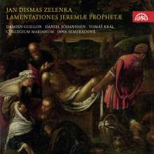 Jan Dismas Zelenka (1679-1745): Lamentationes Jeremiae ZWV 53, CD