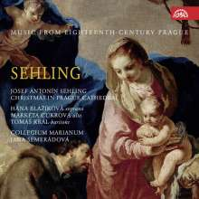 "Josef Antonin Sehling (1710-1756): Weihnachtsmusik ""Christmas in Prague Cathedral"", CD"