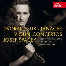 Josef Spacek - Dvorak / Suk / Janacek, CD