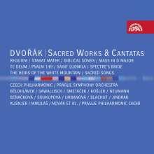 Antonin Dvorak (1841-1904): Geistliche Werke & Kantaten, 8 CDs