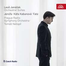 Leos Janacek (1854-1928): Orchestersuiten aus Opern, CD