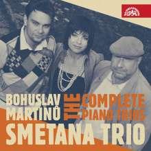Bohuslav Martinu (1890-1959): Sämtliche Klaviertrios, CD