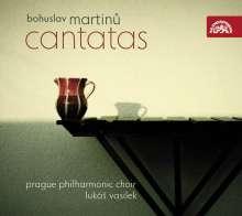 Bohuslav Martinu (1890-1959): Kantaten, CD