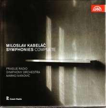 Miloslav Kabelac (1908-1979): Symphonien Nr.1-8, 4 CDs