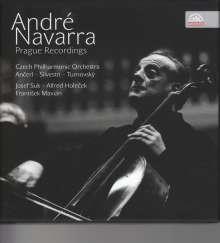Andre Navarra - Prague Recordings, 5 CDs