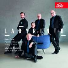 """Petr Eben (1929-2007): Streichquartett """"Labyrinth of the World and Paradise of the Heart"""", CD"""