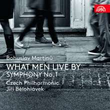 Bohuslav Martinu (1890-1959): What Men Live By (Oper in einem Akt), CD