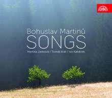 Bohuslav Martinu (1890-1959): Lieder, CD