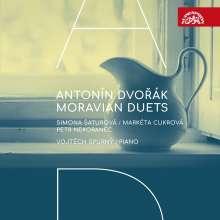"""Antonin Dvorak (1841-1904): 23 Lieder """"Mährische Duette"""", CD"""