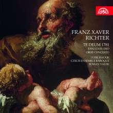Franz Xaver Richter (1709-1789): Te Deum 1781, CD