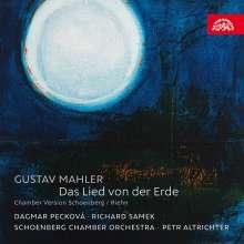 Gustav Mahler (1860-1911): Das Lied von der Erde (Kammermusikfassung von Schoenberg/Riehn), CD