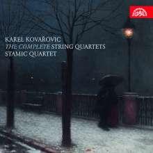 Karel Kovarovic (1862-1920): Streichquartette Nr.1-3, CD