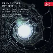 "Franz Xaver Richter (1709-1789): Psalmus 136 a 12 voci ""Super flumina Babylonis"" (1768), CD"