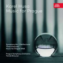 """Karel Husa (1921-2016): Orchesterwerke """"Music for Prague"""", CD"""