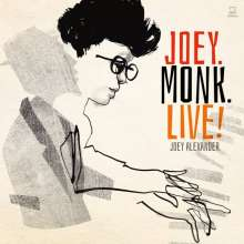 Joey Alexander (geb. 2003): Joey.Monk.Live!, CD