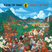 Playing For Change: Listen To The Music, CD