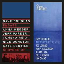 """Dave Douglas (geb. 1963): Showing Up / The Power Of The Vote (Limited-Edition), Single 7"""""""