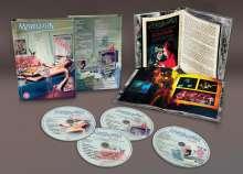 Marillion: Fugazi (Deluxe Edition), 3 CDs und 1 Blu-ray Disc