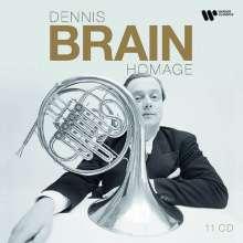 Dennis Brain - Homage (Recordings 1938-1957), 11 CDs