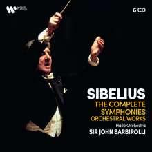 Jean Sibelius (1865-1957): John Barbirolli dirigiert Sibelius, 6 CDs