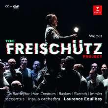 Carl Maria von Weber (1786-1826): Der Freischütz (Ausz.), 1 CD und 1 DVD
