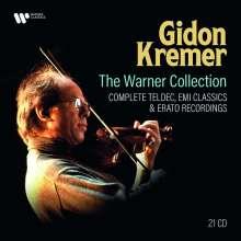 Gidon Kremer - The Warner Collection (Complete Teldec, EMI & Erato Recordings), 21 CDs