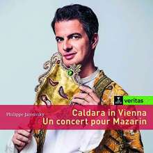 Philippe Jaroussky - Caldara in Vienna & Un Concert pour Mazarin, 2 CDs
