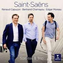 Camille Saint-Saens (1835-1921): Klaviertrio Nr.2 e-moll op.92, CD