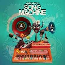 Gorillaz: Song Machine Season One: Strange Timez (Indie Retail Exclusive) (Limited Edition) (Orange Vinyl), LP