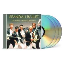 Spandau Ballet: 40 Years: The Greatest Hits, 3 CDs