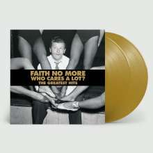 Faith No More: Who Cares A Lot? The Greatest Hits (Limited Edition) (Gold Vinyl), 2 LPs