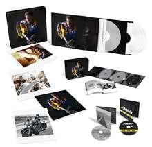 Johnny Hallyday: Son Rêve Américain (Limited Numbered Edition) (3x weißes Vinyl + 2x clear Vinyl), 3 CDs, 5 LPs und 2 DVDs